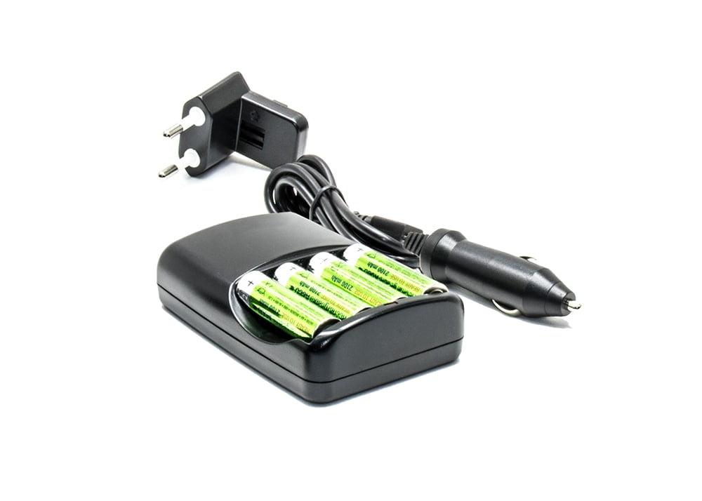 Şarj Kiti (Şarj Cihazı + Araç Şarjı + Piller)