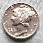 İlk Mercury Dime 1940'ı buldum