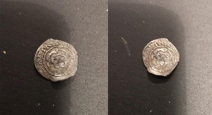 Simplex ile bulduğum gümüş sikke
