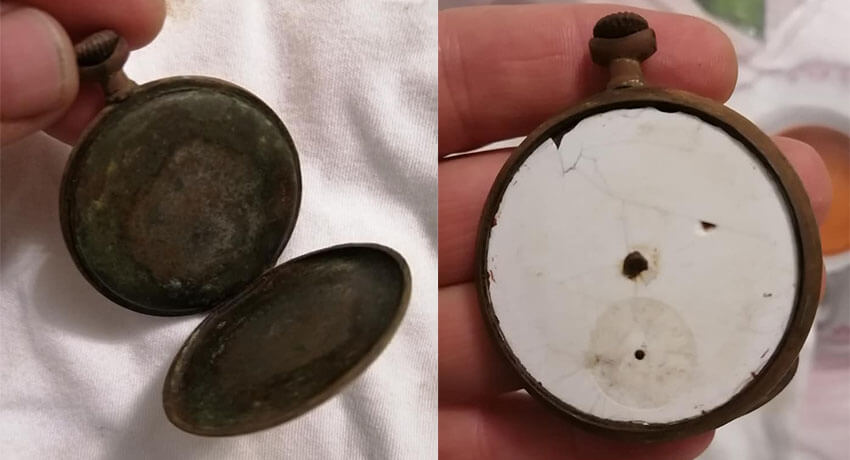 Impack ile bulduğum eski saat