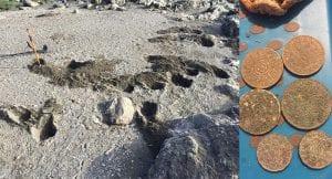 Bugün sahil çok bereketli geçti