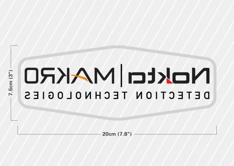 Nokta Makro - Araba Cam Etiketi