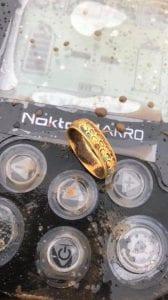 Harika altın sikke ve altın yüzük