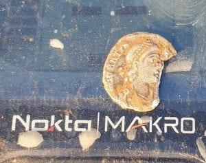 Simplex dedektör ile ilk Roma sikkemi buldum