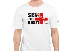 Simplex+ Tişört (Beyaz)