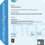 Nokta Mühendislik nqa ISO 9001 Sertifikası