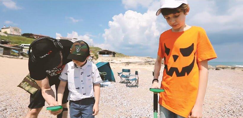 Çocukları metal dedektörleri ile tanıştırmanın en eğlenceli yolu