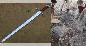Simplex ile bulunan şövalye kılıcı
