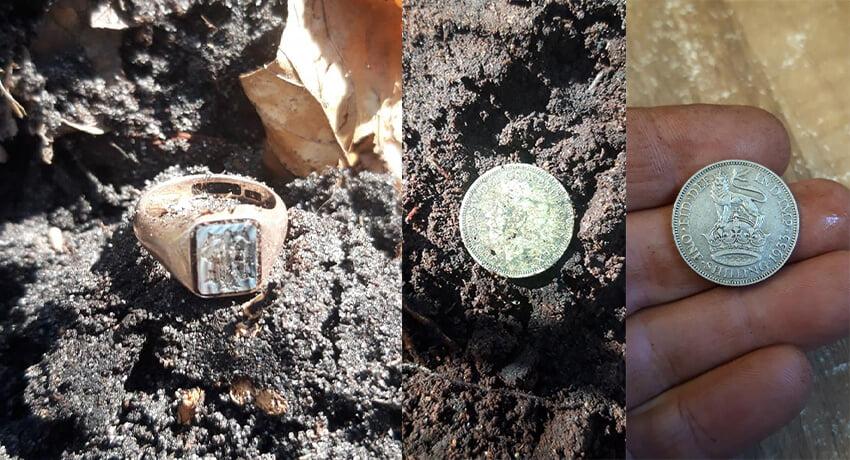 Simplex Dedektörle Ormanda Altın ve Gümüş