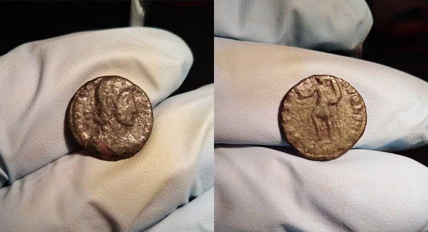 Büyük Konstantin Sikkesi (307-337) - Kapak