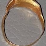 Simplex'le Safir Taşlı Altın Ortaçağ Yüzüğü - 3