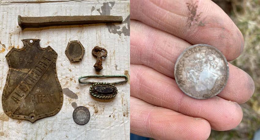 Anfibio Dedektörle 122 Yıllık Gümüş Para - Kapak
