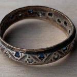 Viktorya Dönemi Yıldız Yüzüğü Buldum - 7