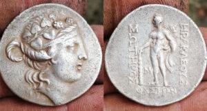 Roma Dönemi Gümüş Tetradrahmi Sikke